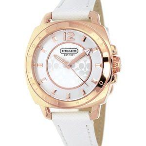 Coach Ladies Rose Gold Watch